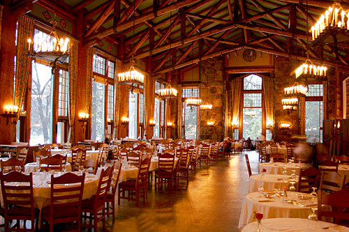 Yosemite National Park The Ahwahnee Hotel Beauteous Ahwahnee Dining Room