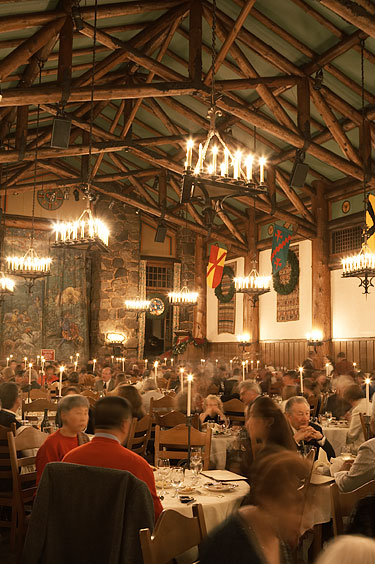 ahwahnee dining room. Another Shot Of The Ahwahnee Dining Room On Christmas Day, 2005.
