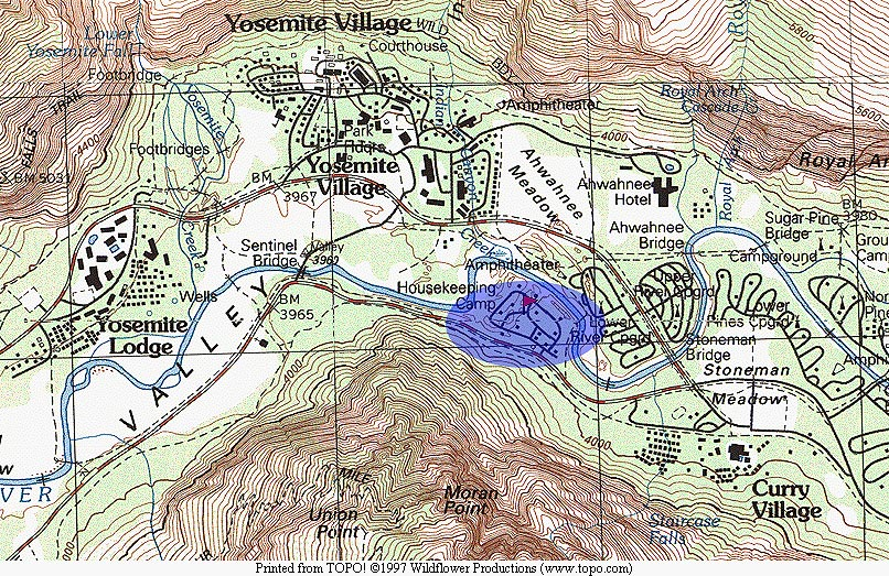 Yosemite National Park Housekeeping Camp